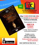 Livro WICCA- A RELIGIÃO DA DEUSA – Relançamento na Bienal dia11/08